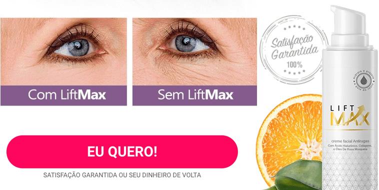 Veja o antes e depois do lift max