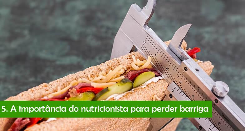 Ajuda de nutricionista para perder barriga