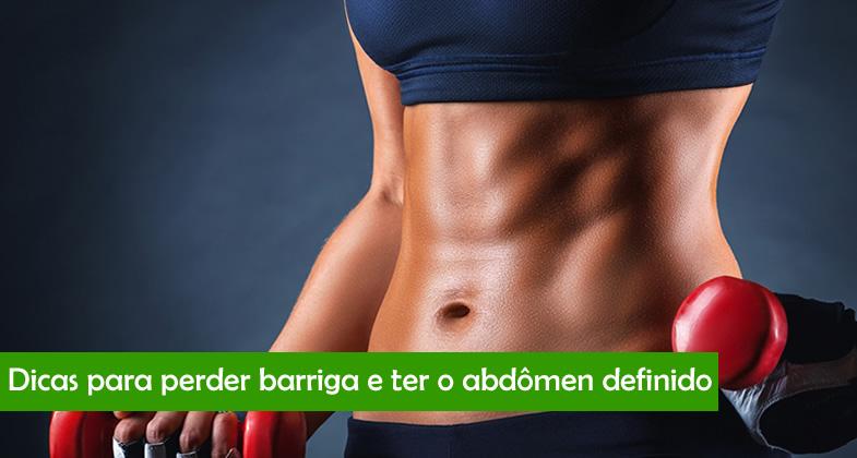Perde barriga de definir o abdomem